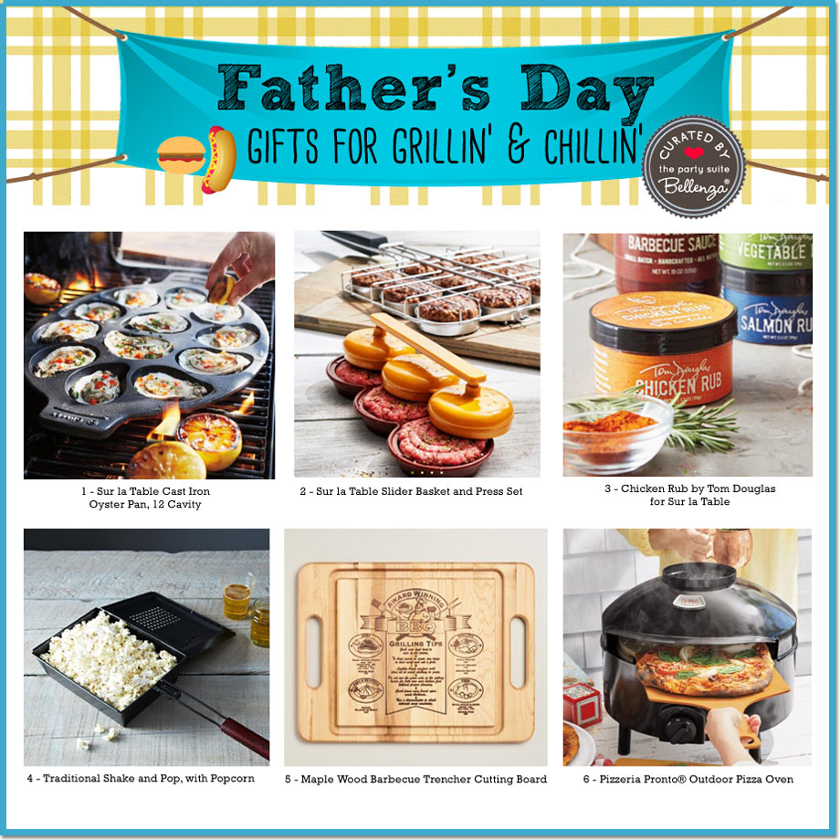 Grillin' and Chillin' Father's Day Gift Guide | Bellenza
