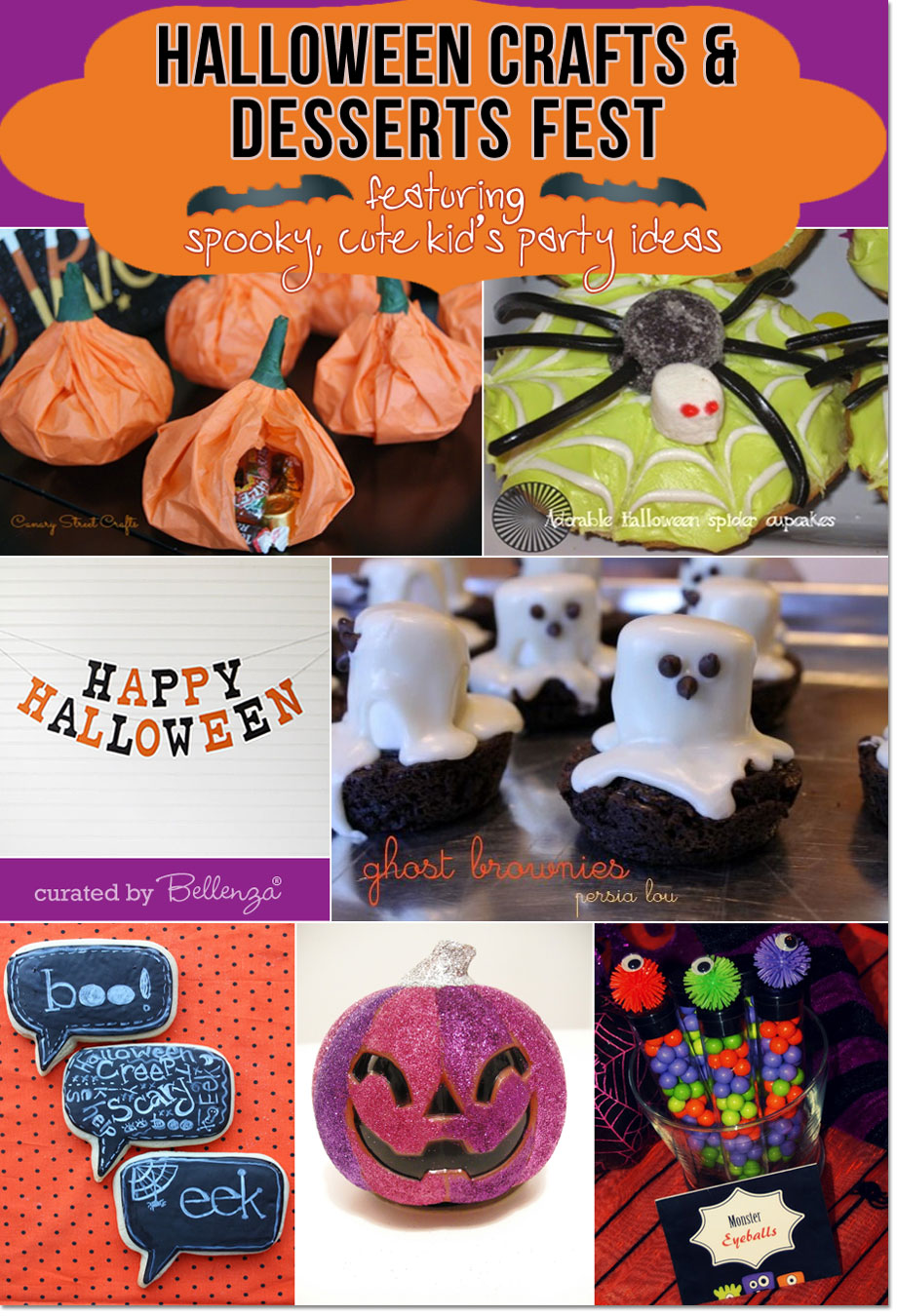 Spooky, cute Halloween Ideas for a Children's Party