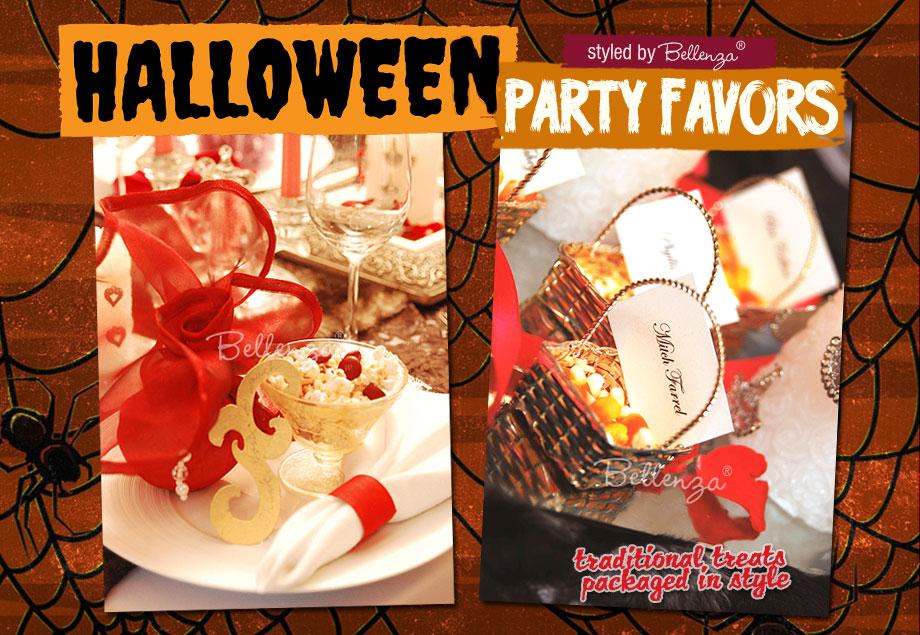 Halloween candy corn and popcorn mix