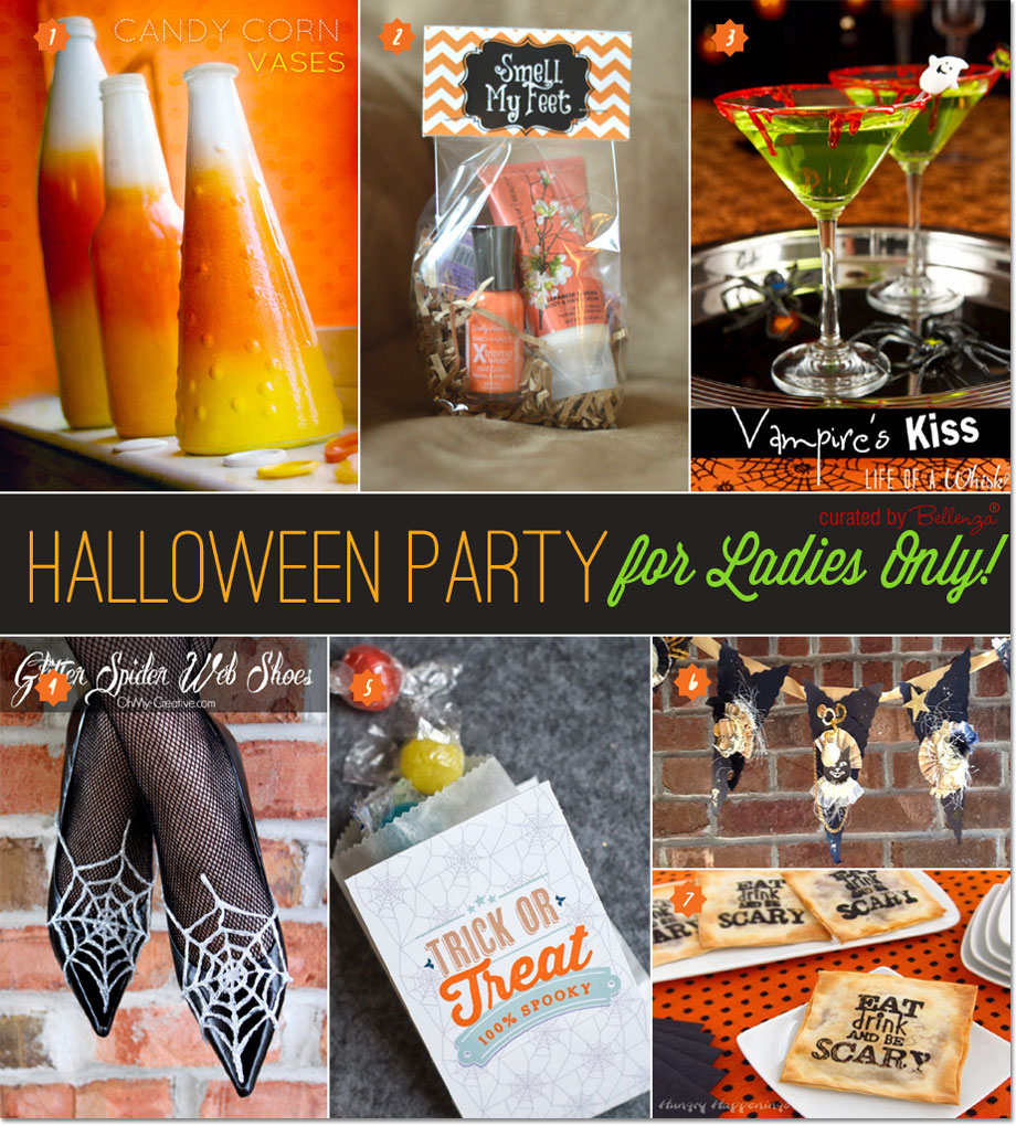 Ideas for a Stylish Halloween Girls' Night In