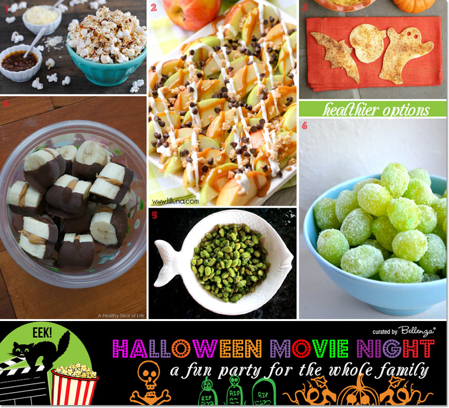 Healthy & Easy Snacks to Serve for Halloween Movie Night
