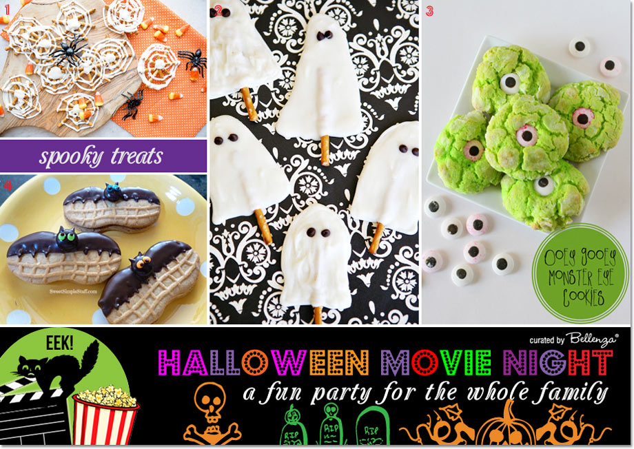 Halloween Movie Night! Fun Themed Treats & Favors