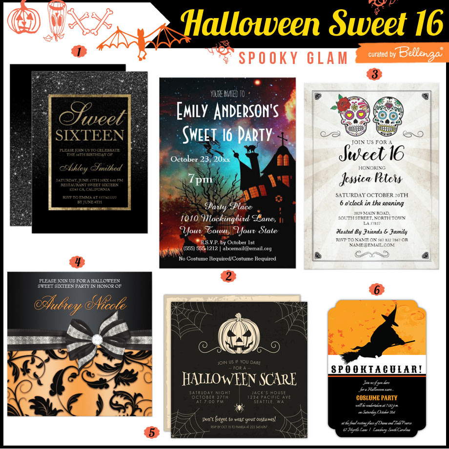 halloweensweet16-invites