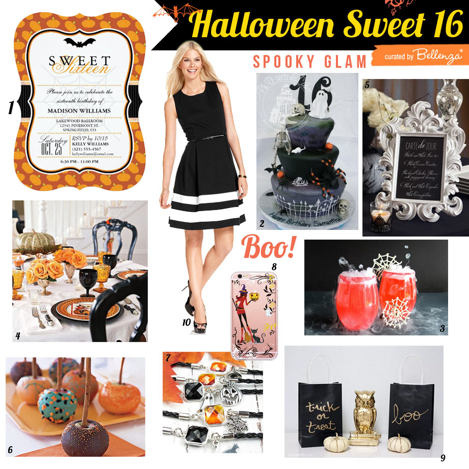 How to Plan a Sweet 16 at Home with Spooky Glam Details