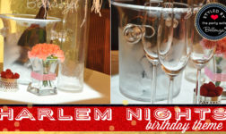 Harlem Nights Birthday Theme