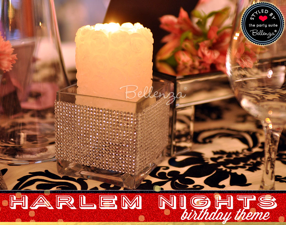 Harlem Nights Birthday Decorations