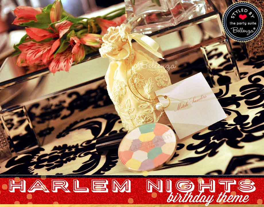 Harlem Nights Birthday Favors