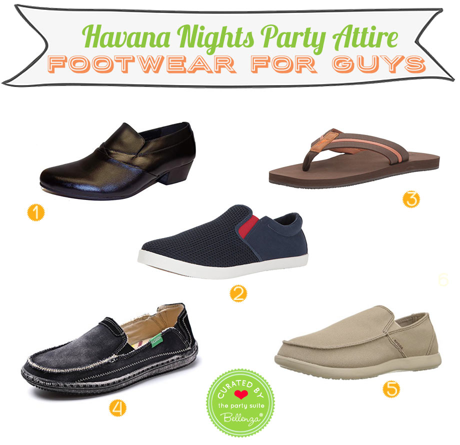 Havana Nights Attire: Shoe Picks
