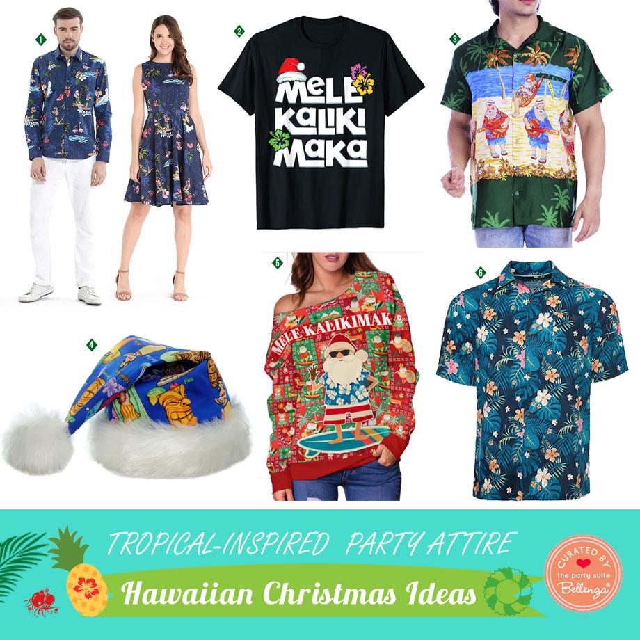 Tropical Christmas Attire