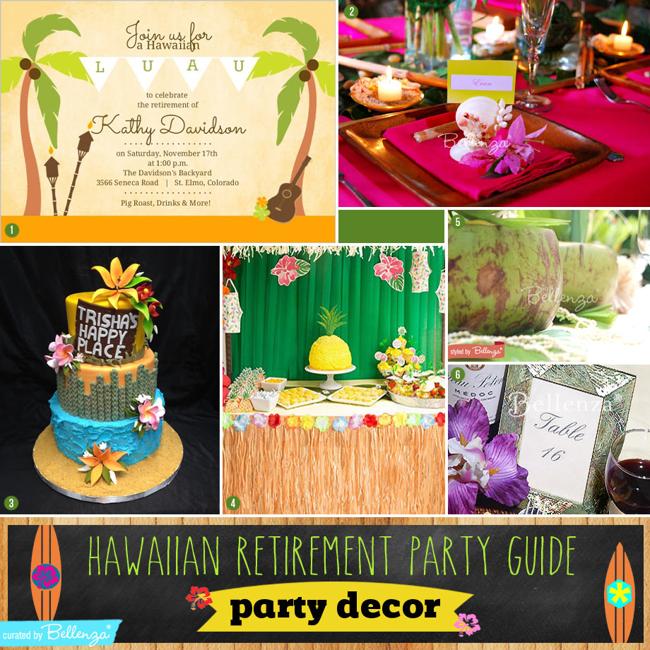 Decorating Ideas for a Hawaiian-themed Party