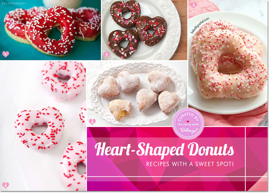 Hit a Sweet Spot with Valentine's Donuts with Creative Recipes!
