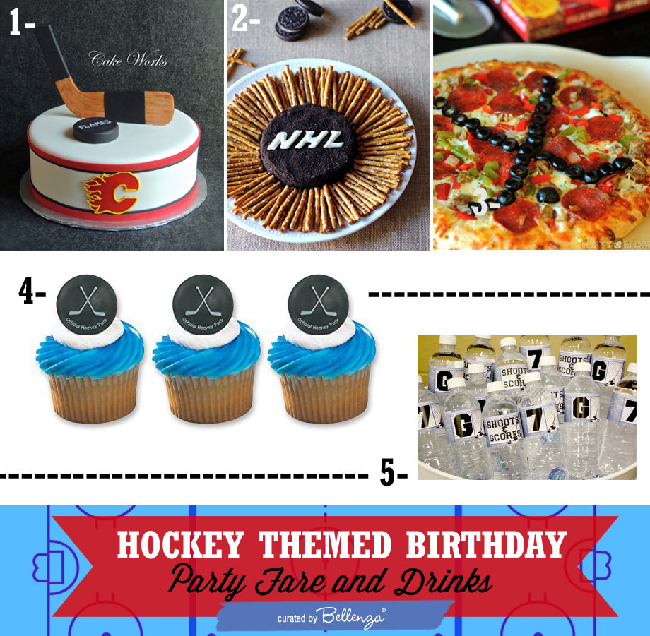Easy Hockey-inspired Party Fare and Drinks
