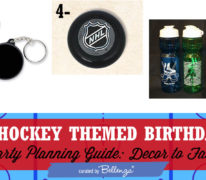 Ideas for Planning a Hockey-themed Teen Birthday Party