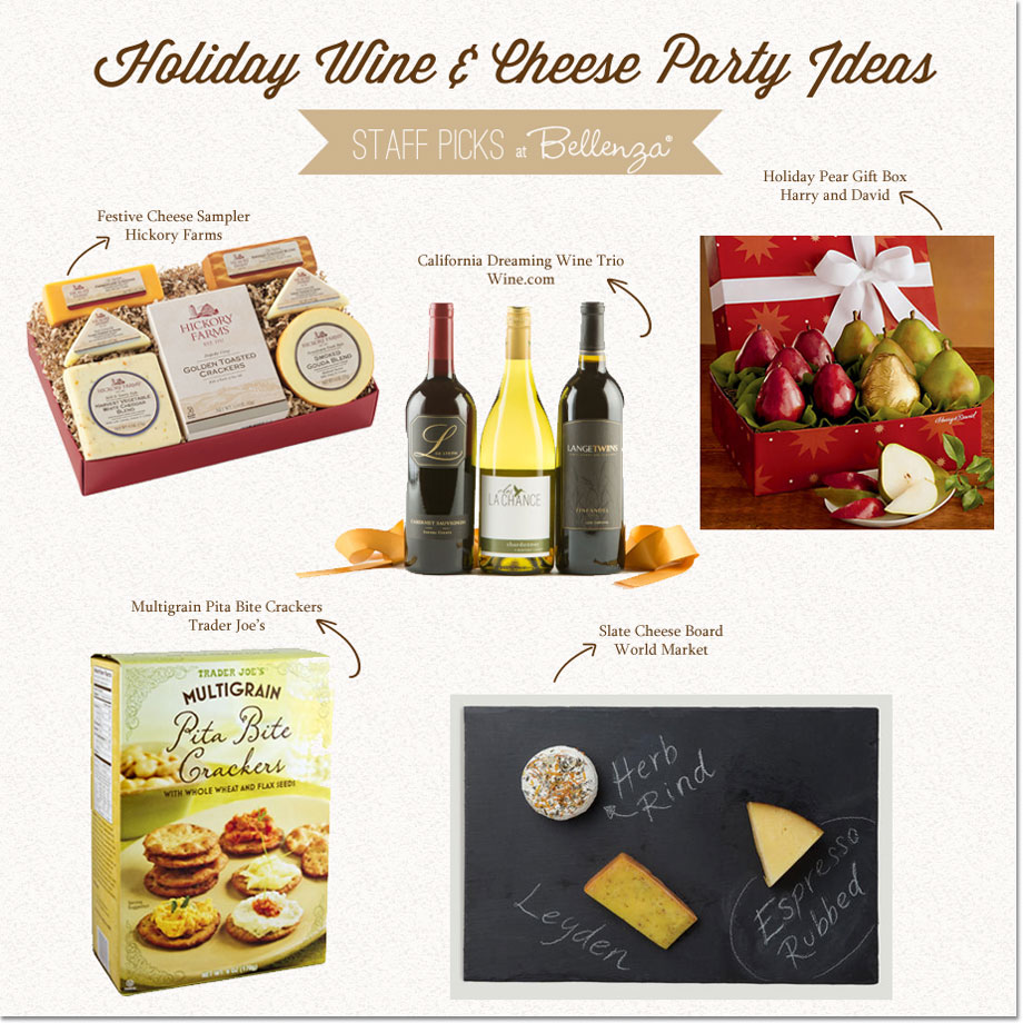 Holiday Wine and Cheese Product Picks at Bellenza.