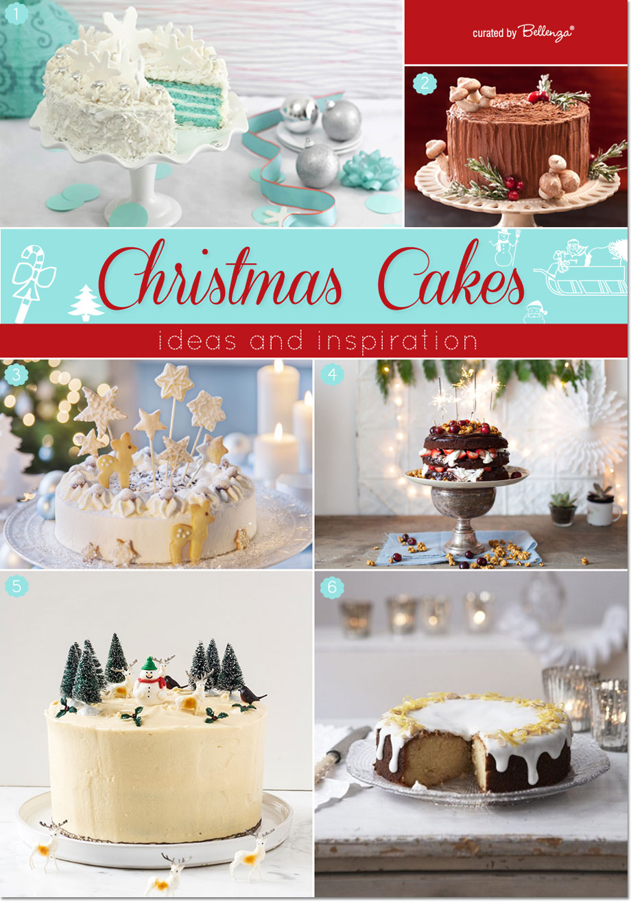 Homemade Christmas Cakes that are Sweet, Simple, and Stylish.