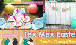 Tex Mex Fiesta Theme for an Easter Party!