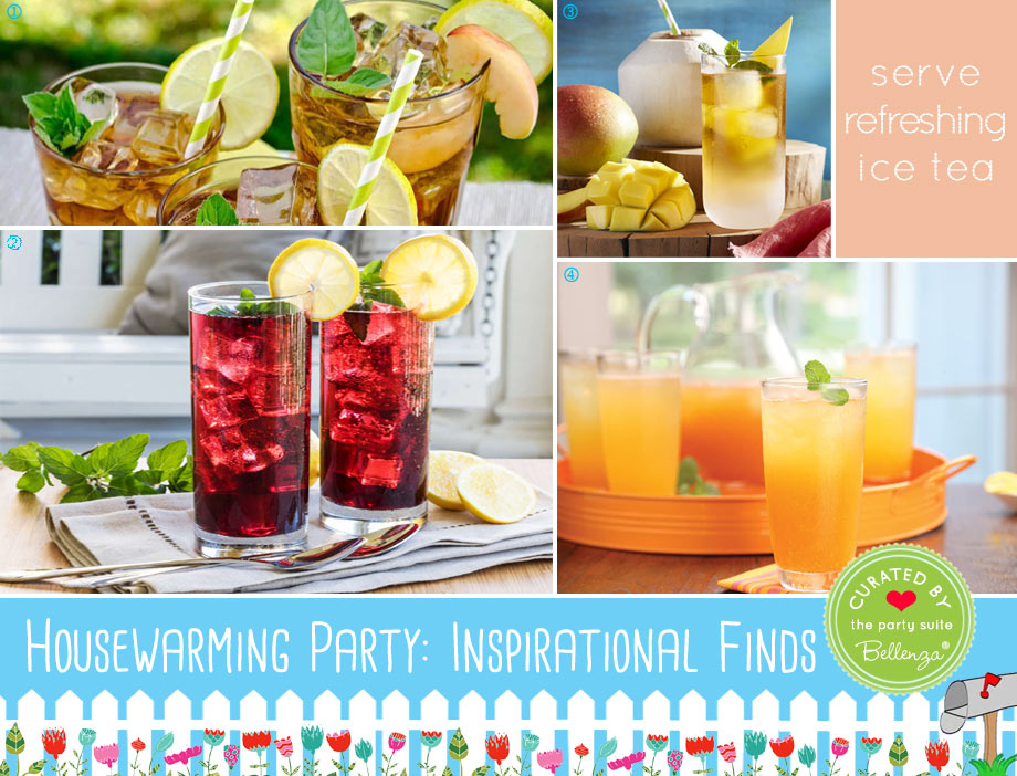Refreshing Iced Teas for Guests to Enjoy