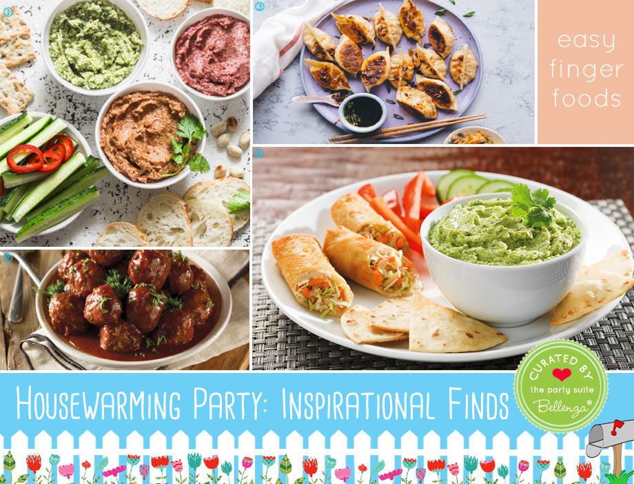 Easy Finger Foods for Your Housewarming Buffet with An Asian Flair