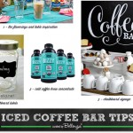 Tips for Stocking Your Iced Coffee Bar