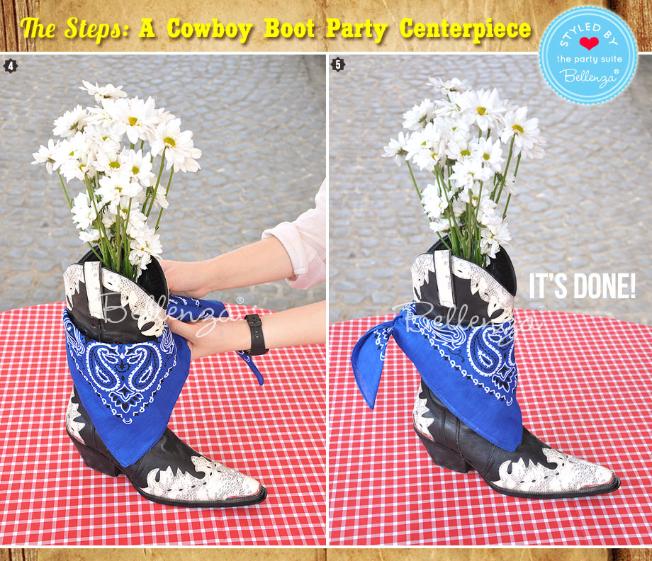 Daisies in a boot