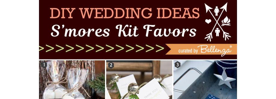 s'mores kit favor ideas