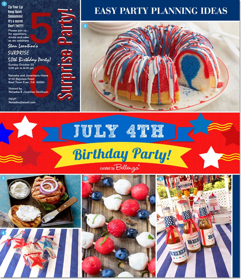 How to Plan a Simple July 4th Birthday Party
