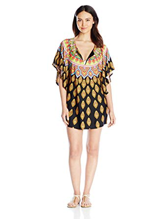 Women's Moroccan Medallion Tunic Cover Up