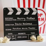 Invitation clapper by Swanky Press