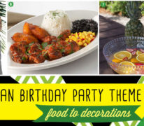 Plan a Jamaican Birthday Party.