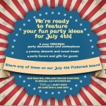 """July 4th Party Decor and Treats Fest""!"