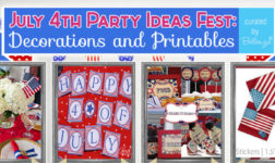 July 4th Party Decorations and Printables