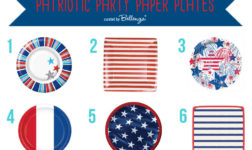 July 4th Paper Plates