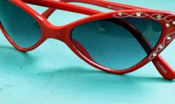 Cat's eye sunglasses. Photo byBitter Root Vintage