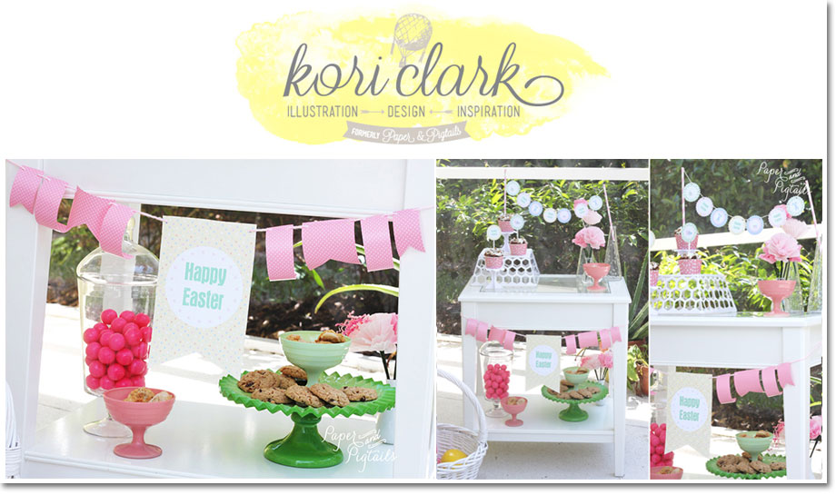 Polka Dots and Pastels Easter by Kori Clark