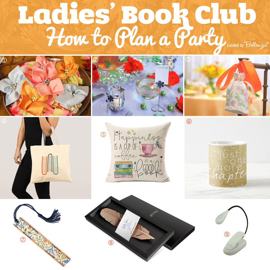 Favor Ideas for Book-loving Ladies