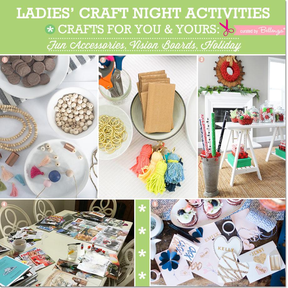 Ladies Craft Night Seasonal Ideas