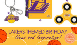 Lakers Birthday Party Theme Party Inspiration