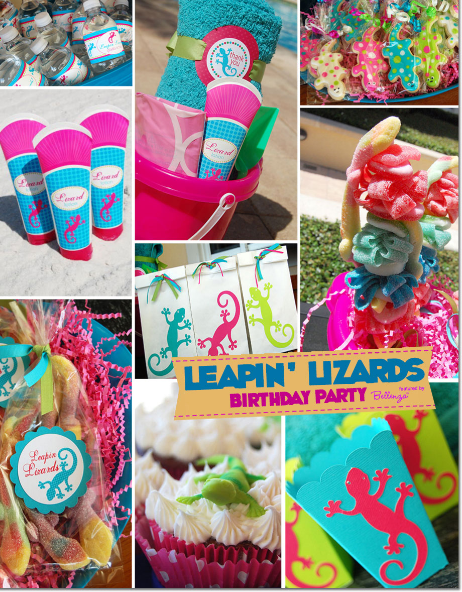 Leapin Lizards Birthday Feature