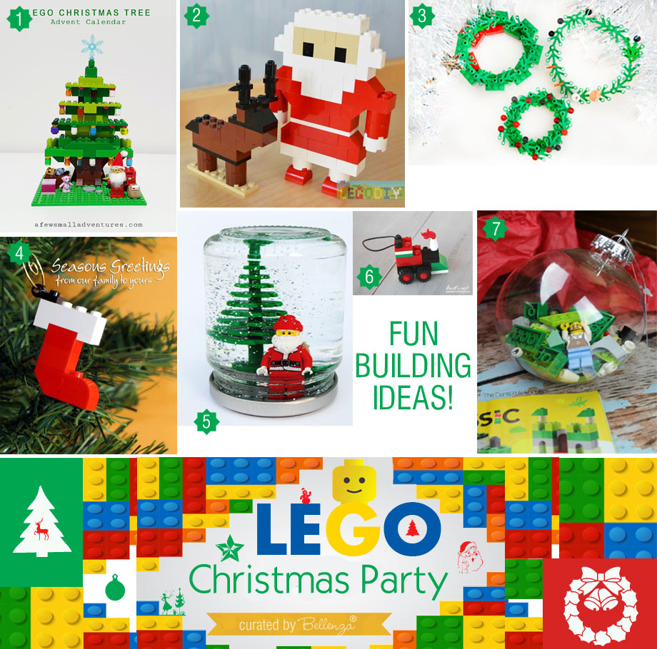 Lego Christmas Decorations You Can DIY