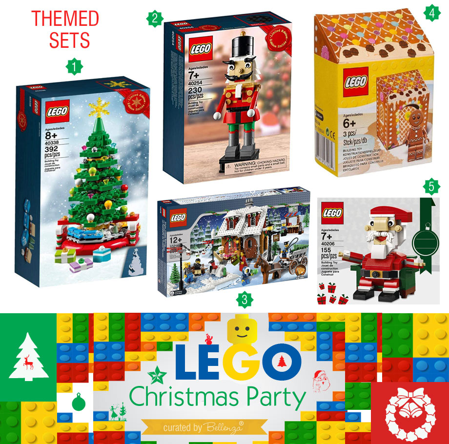 Lego Christmas Themed Sets You Can Buy to Build