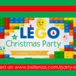 Lego Christmas Decorations and Food