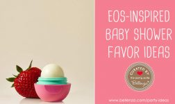 EOS-inspired Baby Shower Favor Ideas Popping Up!