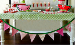 Fun Watermelon-themed Summer Party Ideas + Inspiration: 5 Blogs 1 Theme!
