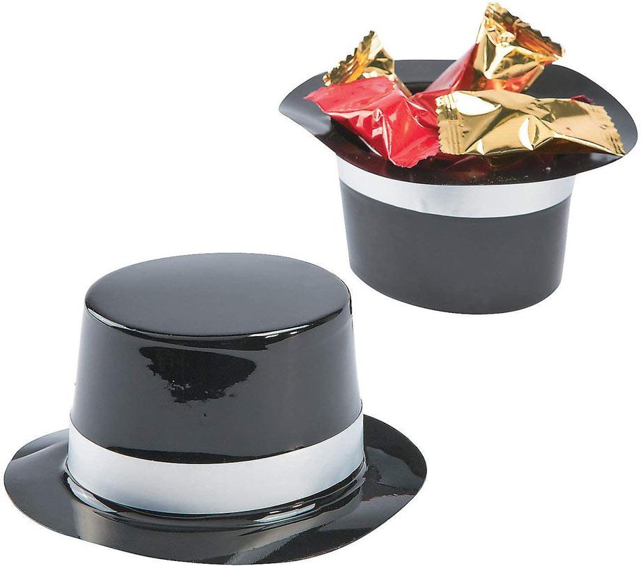 Magic themed favor hats