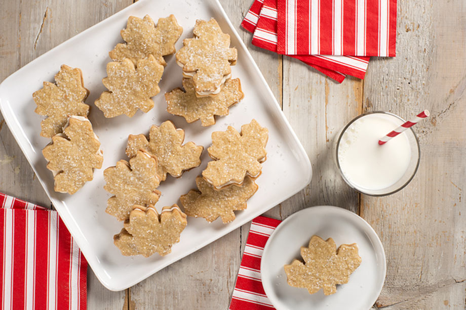 Maple Leaf Cookies from Kraft Canada