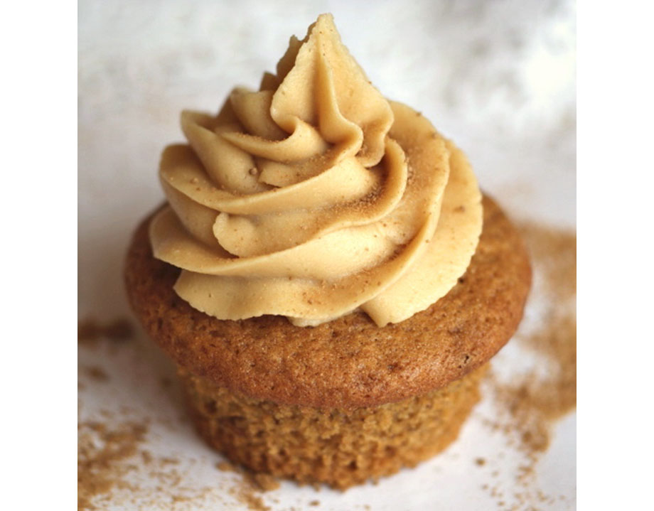 Vegan Maple Cupcakes with Pure Maple Buttercream Frosting