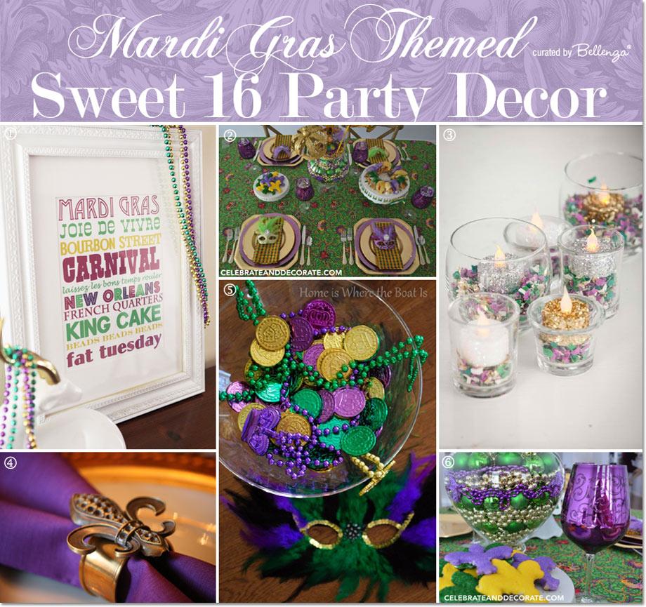 Mardi Gras Sweet 16