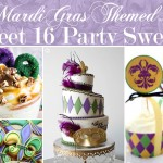 How to Plan a Sweet 16 Mardi Gras Theme
