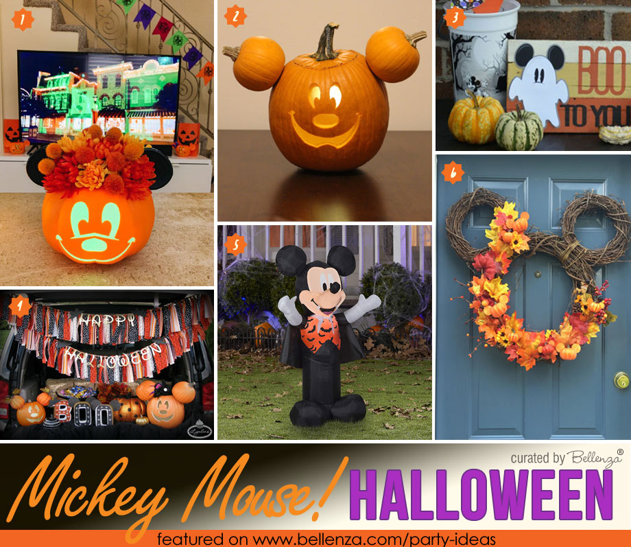 Mickey-themed Halloween Home Decorations
