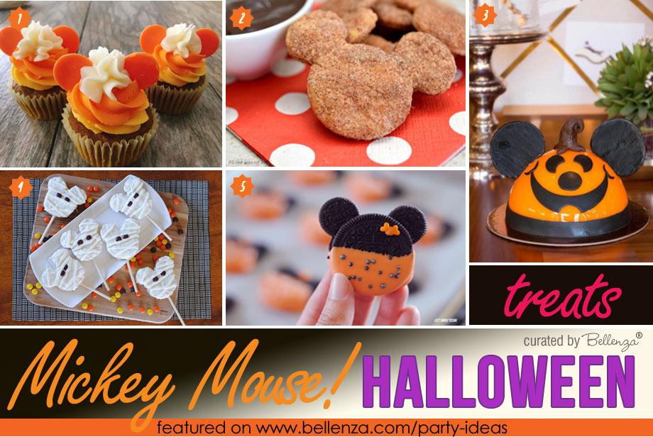 Mickey-themed Halloween Treats